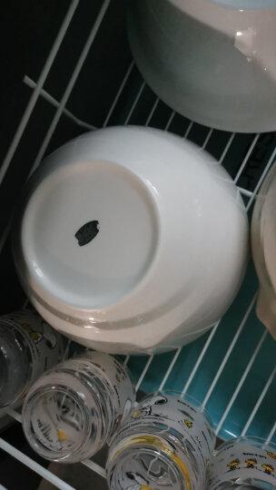 瑞玖 8寸平底澳式碗大碗汤碗无铅骨质瓷大瓷碗陶瓷碗贵妃牡丹花 贵妃8寸澳碗 晒单图