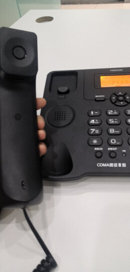 盈信(YINGXIN)插卡电话机 移动固话 家用办公座机 插卡录音电话机 自动录音 Ⅲ型GSM移动录音版黑色 晒单图