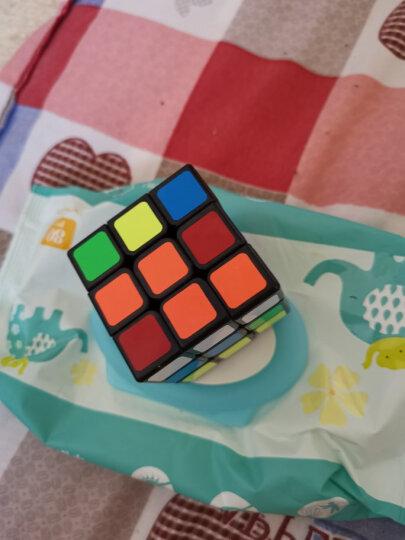 圣手3阶魔方方圆三阶魔方比赛专用减压玩具顺滑送教程礼盒装专业版 黑色 晒单图