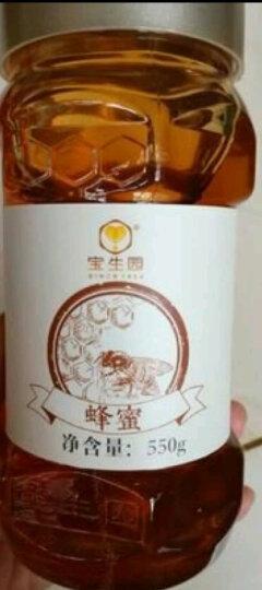 宝生园(baoshengyuan) 百花蜂蜜550g*3瓶 天然农家自产百花蜜蜂巢蜜峰蜜中华老字号 晒单图