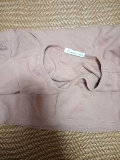 纯一良品童装男童长袖T恤儿童打底衫宝宝春秋装上衣中大童圆领体恤 粉红色 100cm 晒单图