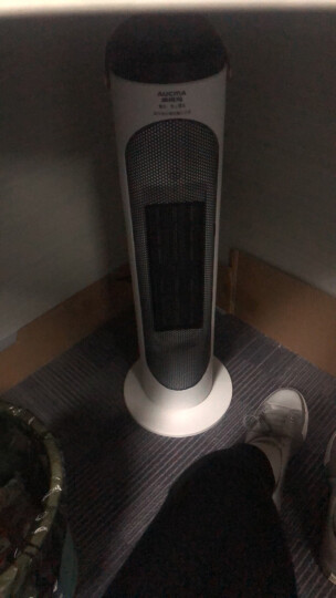澳柯玛(AUCMA)家用遥控塔式电暖风机立式取暖器/电暖器/电暖气NF20ND20(Y) 晒单图