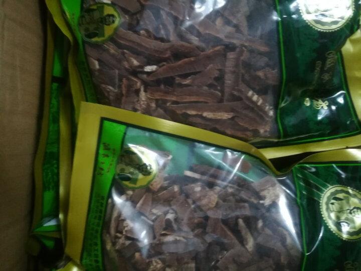 汇吉工坊 长白山灵芝片 平盖灵芝整枝切片 青芝树舌林芝菌菇茶粉野外生长 晒单图