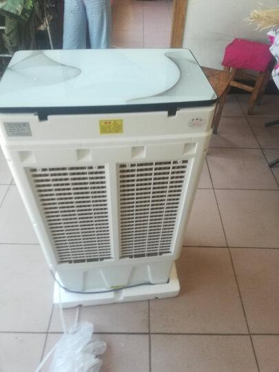 骆驼(CAMEL)JH-390空调扇家用工业冷风机商用冷风扇制冷车间移动水冷空调静音大风量大容量水箱 28000风量按键款 晒单图