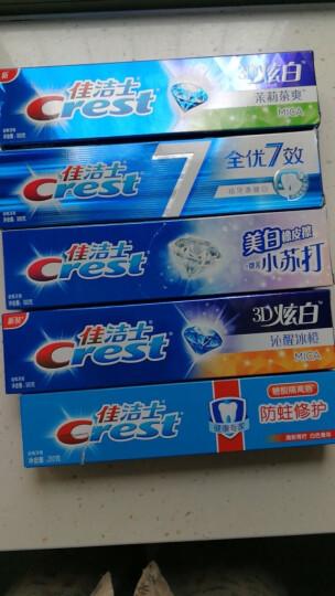 佳洁士(Crest)3D炫白双效牙膏180g6支装鹿晗定制装(新老包装随机发货) 晒单图