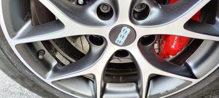 BBS SR款式轮毂 德国原装进口奥迪奔驰A/B/C/E大众高尔夫斯柯达西亚特MINI F56 8*18英寸 亚光黑色+抛光 订阅 晒单图