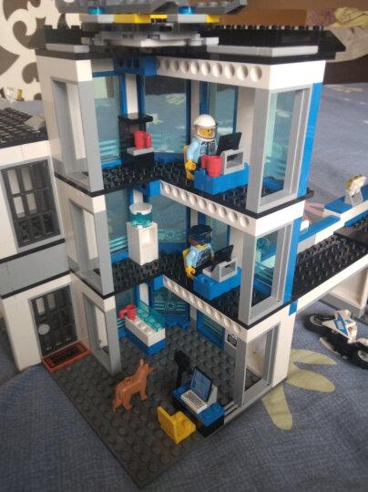 【乐高认证店】乐高(LEGO)积木玩具 城市警察系列 60197 客运火车 晒单图