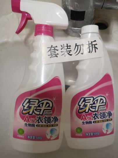 绿伞衣领净500g*2瓶 领洁净 领必净 衣领袖口免搓洗清洁剂 预涂洗衣液助洗剂 晒单图