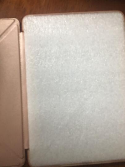 ESCASE 2018ipad 9.7保护套2017苹果第5/6代通用平板电脑全包防摔硅胶壳儿童网课支架9.7英寸 玫瑰金 晒单图