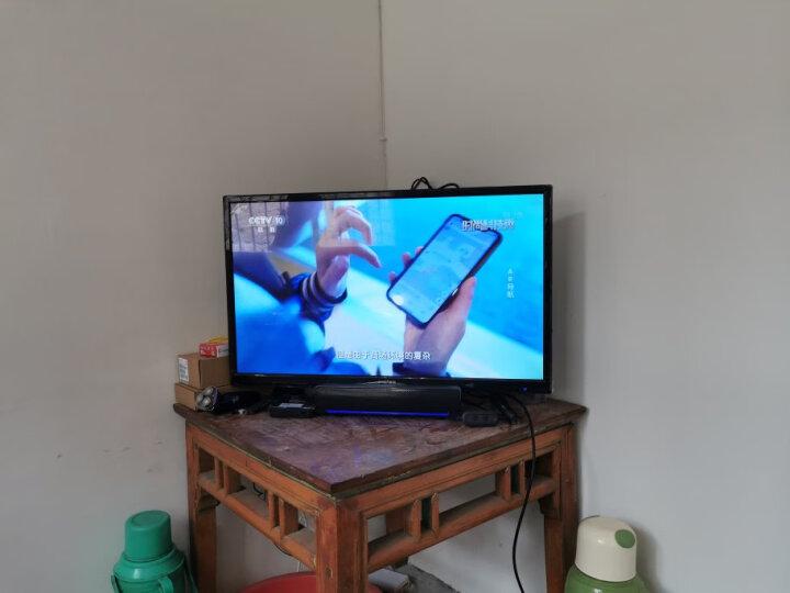 夏新(AMOI) 832X窄边框32英寸高清蓝光LED平板液晶电视机 家用黑色卧室彩电 晒单图
