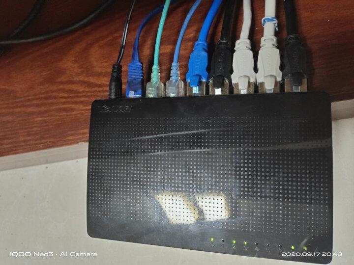 腾达(Tenda)SG108 8口千兆交换机 家用宿舍交换器 监控网络网线分线器 分流器 兼容百兆 晒单图