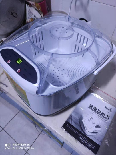 百川 家用全自动洗菜机臭氧机商用果蔬清洗机多功能活氧机 洗菜机 晒单图