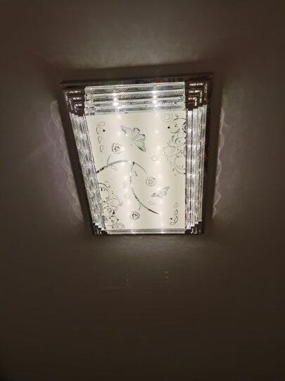 金幻LED吸顶灯客厅灯长方形水晶灯具套餐简约现代灯饰 棋韵水晶客厅遥控调光160瓦110*80cm 晒单图