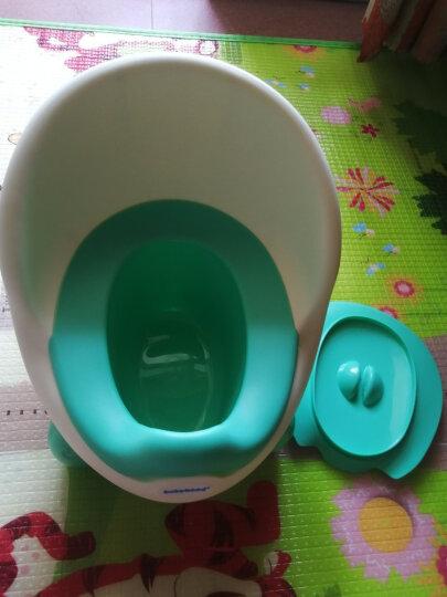 世纪宝贝(babyhood)儿童马桶宝宝坐便器婴儿便盆 幼儿男女小孩尿盆 蓝色 BH-105 晒单图
