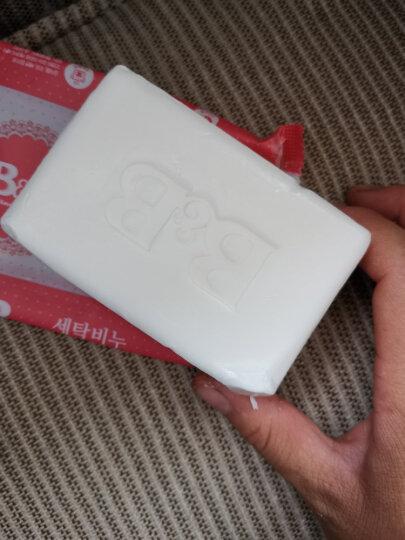 保宁B&B婴幼儿尿布皂儿童洗衣皂宝宝bb肥皂新生儿内衣皂可煮洗洋槐香皂200g*6(共六块) 晒单图