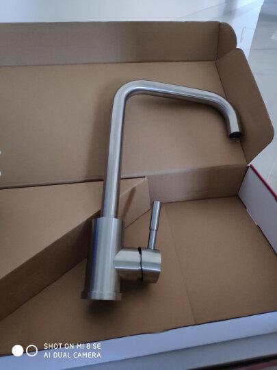 莱尔诗丹 LD82058  304不锈钢水槽龙头 厨房水槽冷热水洗菜盆龙头 不锈钢水龙头 晒单图