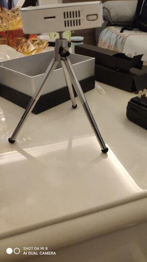 Rigal 瑞格尔(rigal)RD-605 智能3D投影仪办公家用可连wifi无线投影机 晒单图