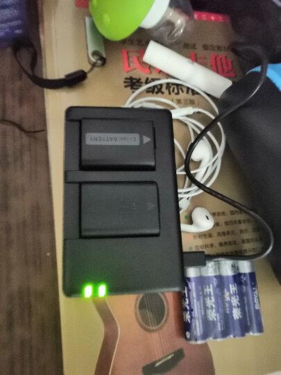 沣标(FB)NP-FW50 两电双充套装For索尼A6500/6300/6000 A5100A7r/sM2  RX10 黑卡微单相机可充电电池充电器 晒单图
