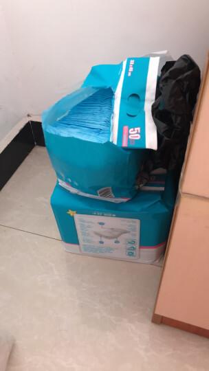 子初 婴儿隔尿垫 一次性宝宝纸尿垫护理垫新生儿春夏季床单儿童隔尿垫巾150片  33*45cm 晒单图