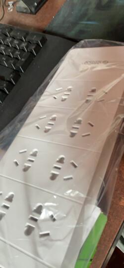 奥睿科(ORICO)小U插座/插线板/接线板 3位插口排插/插排 20W大功率多口USB充电器苹果 安卓手机平板通用 白 晒单图