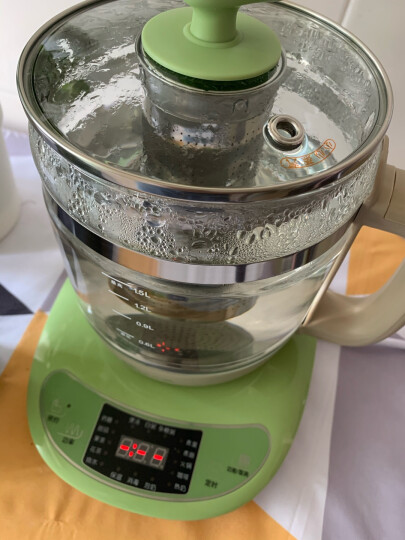 小熊(Bear)养生壶1.5L迷你烧水壶热水壶电水壶热水壶电热水壶 多功能花茶壶黑茶煮茶器煮茶壶YSH-B18T1 晒单图
