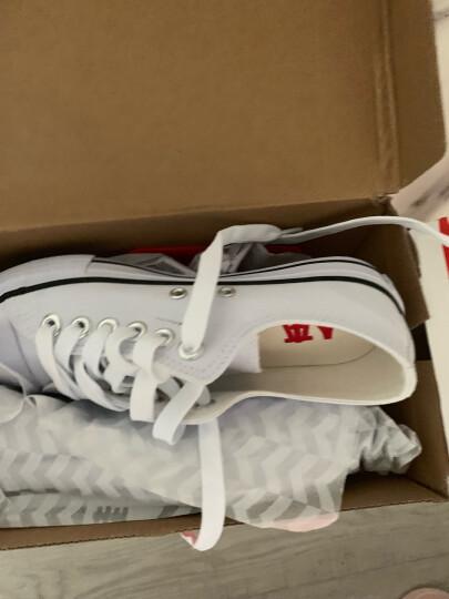 人本帆布鞋女平底运动板鞋经典情侣原宿小白鞋 学生韩版校园布鞋 米白棕 女39 晒单图