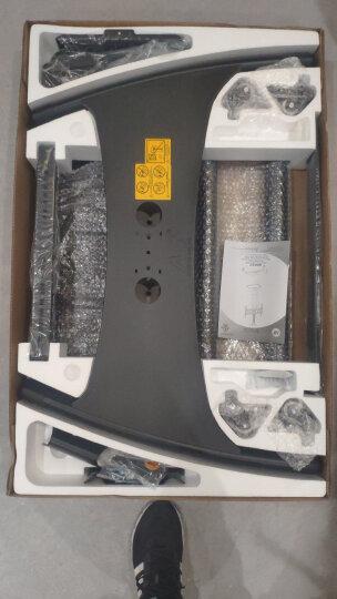 NB AVF1500-50-1P(32-65英寸)液晶电视机挂架电视落地移动支架视频会议移动推车显示屏电子白板通用架子白色 晒单图
