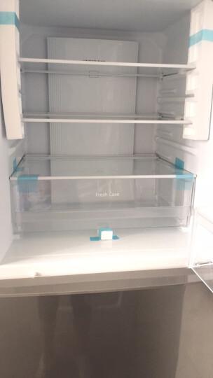 松下(Panasonic)自由变温室-3℃微冻保鲜 280升三门超薄变频风冷无霜冰箱 NR-C280WP-NA典雅金 晒单图