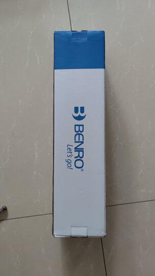 百诺(Benro)三脚架 C2690TB1 碳纤维 佳能尼康单反相机三角架 反折 专业单反三脚架云台 晒单图