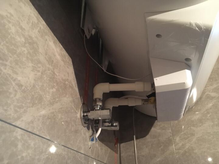 海尔(Haier)50升电热水器 7倍增容速热遥控预约 一级能效 专利2.0安全防电墙 EC5003-G6 晒单图