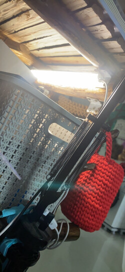欧普照明(OPPLE)led台灯酷毙灯壁灯大学生宿舍USB书桌宿舍插电灯管 【5瓦/30厘米长/暖白光】 晒单图