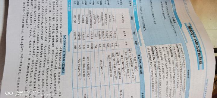 2021版 中考达标学案 广东名著解读一点通 部编版 七八九年级通用 晒单图