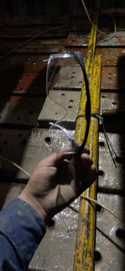 代尔塔 防灰尘防风沙护目镜 挡风防护骑行眼镜 工厂访客可用 透明摩托车劳保男  打磨防飞溅 中国款 晒单图