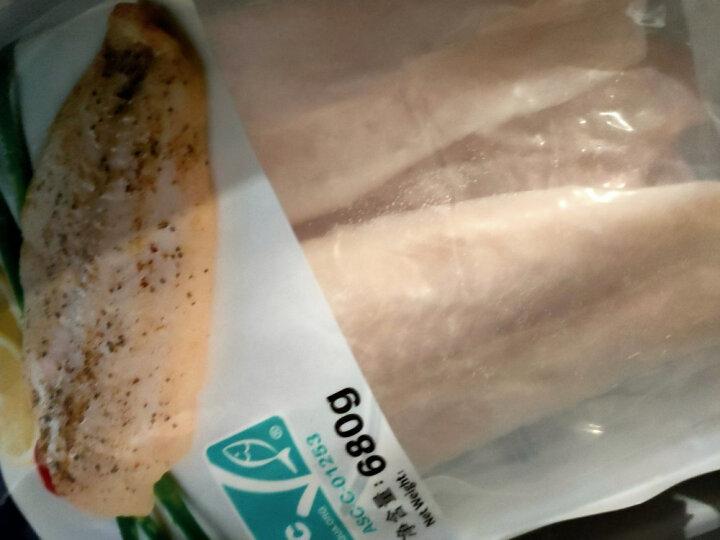 蓝雪 冷冻巴沙鱼柳 ASC认证 600g 3片 袋装 生鲜 海鲜水产 核酸已检测 晒单图