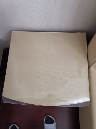 金字塔 桌布防水桌垫无味餐桌布茶几垫软玻璃定制透明PVC台布隔热垫圆桌布定做水晶板防油防烫胶垫 无味磨砂1.5mm 70*140cm 晒单图