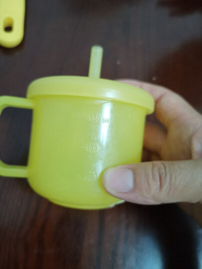 贝亲(Pigeon) 饭盒 婴儿餐具套装 辅食碗(配盖子)+勺子+叉子 6个月以上 Little Coro DA97 晒单图