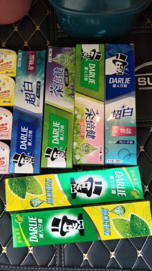 黑人(DARLIE)茶倍健茉莉白茶牙膏190g  清新口气 减少牙菌斑 持久清香(新旧包装随机发放) 晒单图