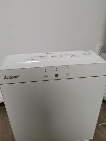 三菱电机MITSUBISHI ELECTRIC空气净化器日本制造原装进口MA-E85K-C 白色优雅钢琴烤漆 晒单图