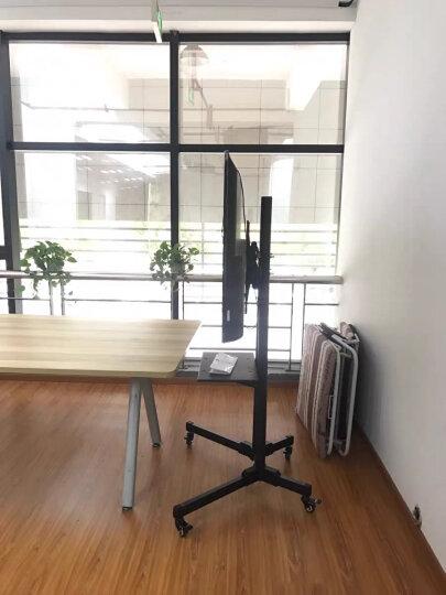 NB AVG1800-100-1P(60-100英寸)通用电视机立式支架触摸教学一体机移动支架视频会议商用可移动挂架机箱白 晒单图