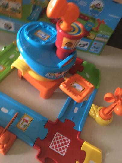 伟易达(VTech)神奇轨道车大消防车儿童玩具男孩玩具声光音乐宝宝手推滑行小车遥控电动儿童礼物 晒单图