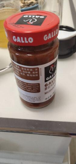 西班牙进口 GALLO意大利蘑菇风味意粉酱260g 意大利面酱调味酱 晒单图