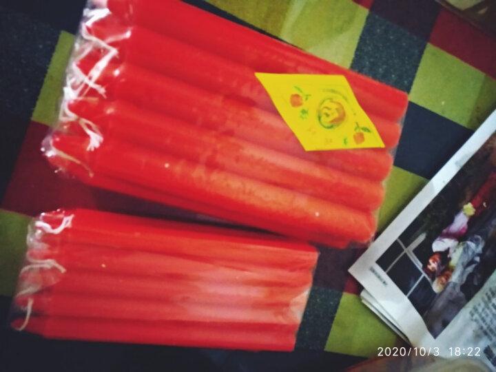 长蜡烛 家用照明蜡烛 日用应急普通蜡烛 红色白色蜡烛 多尺寸可选 红色10支 常规款约直径1.5*长16.7CM 长度看选项 晒单图