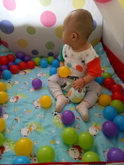 澳乐 儿童室内帐篷游戏屋 男女孩过家家玩具幼儿宝宝游戏小房子 帐篷60装海洋球 ZH-150722005D 晒单图