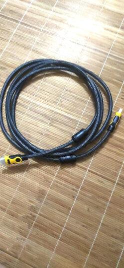 晶华(JH)HDMI线4K高清3D视频线 电脑电视笔记本投影仪机顶盒PS4游戏机数字数据连接线 银灰网3米 H410H 晒单图