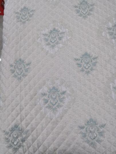 钟爱一生沙发垫套装四季沙发套罩全包坐垫子欧式布艺沙发巾防滑盖布加厚仿亚麻实木红木沙发组合通用 绿韵 扶手巾45*90+15三面花边 晒单图