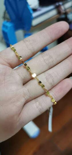 六福珠宝 足金十字相连黄金手链女款送礼  计价 B01TBGB0006 1.87克(含工费80元) 晒单图