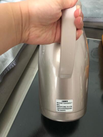 象印1900ml不锈钢真空保温瓶家用办公咖啡水壶SH-HA19C-XA 晒单图