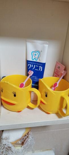 小树苗 儿童牙膏牙刷套装G 宝宝牙膏草莓70g+婴幼儿牙刷软毛粉色 适合2-4岁 不含氟无色素可吞咽 特护系列 晒单图