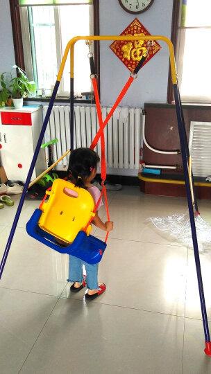 loveforever秋千室内家用吊椅婴儿儿童玩具户外荡秋千折叠支架宝宝滑梯 1.65米支架+三合一座椅+球框 备注座椅颜色 晒单图