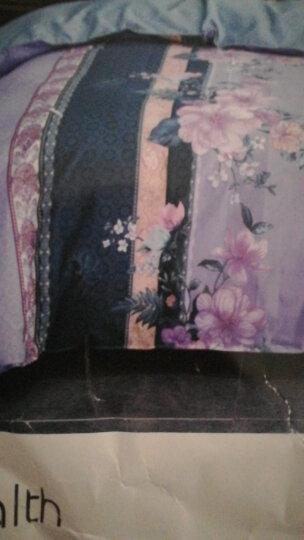 优雅100水洗棉四件套单双人ins风简约网红床单被套枕套学生宿舍1.2/1.5/1.8米床上用品 依格 1.2米床/三件套(被套150*200) 晒单图